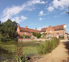 Flatford Mill Suffolk by priddlesworth