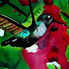 Humming bird painting  by paintingsbycr10
