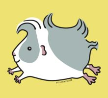 Leaping Guinea-pig ... Gray and White  Kids Clothes