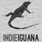 Indie Iguana by Vladyslav Varvanin
