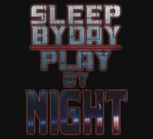 Sleep by Day - Ryu Original Tee by Reverendryu