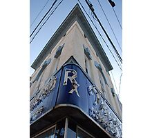 The Corner Drugstore Photographic Print