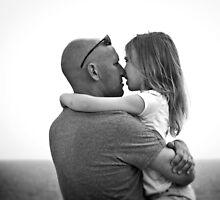 Eskimo Kiss and a Hug by Lucinda Walter