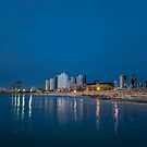 Tel Aviv the blue hour by Ronsho