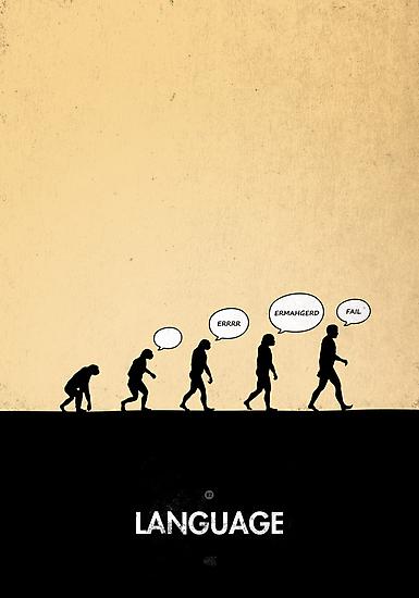 99 Steps of Progress - Language by maentis