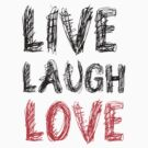 Live Laugh LOVE! by WhisperedDream