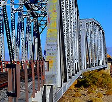 Mojave River Railroad Bridge - Full Bridge View by HeavenOnEarth