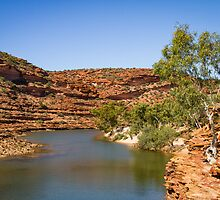 Murchison River Gorge, Kalbarri by Splatt75
