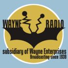 Batman - Wayne Radio by Dizzybow
