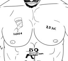 Black Jesus Sticker