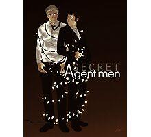 Secret Agent Men Photographic Print