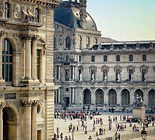 Louvre, Paris by Forrest Harrison Gerke