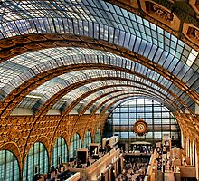 Glass Ceiling of the Musée d'Orsay by Forrest Harrison Gerke
