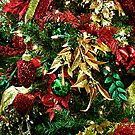 Red, Green and Gold - the colors of Christmas by Jane Neill-Hancock