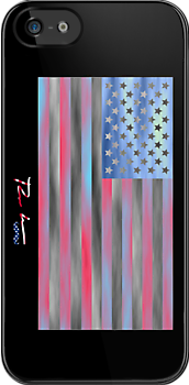 Ron Hedges - Flag 49 by Hedges Creations