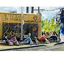 Vineyard Restaurant 2 Photographic Print