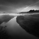 Mist And Noctilucent Clouds by Mikko Lagerstedt