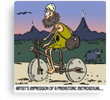prehistoric metrosexual Canvas Print