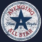 Avenging All Star (Tri-Color Distressed) by Eozen
