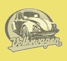 Volkswagen Beetle Tee Shirt Kids Clothes