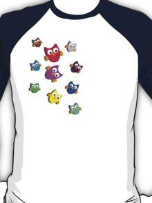 Owls # 2 T-Shirt