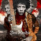 Jimi Hendrix Tribute: Voodoo Child by hubertfineart