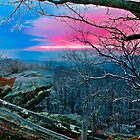 Blue Ridge Sunset by Miles Moody