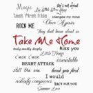 Take Me Home - Tracklist by echosingerxx