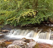 Campsie Waterfall by Iain McGillivray