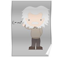 Excuse Me While I Science: Albert Einstein - E=mc² Equation Poster