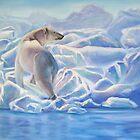 Blue Ice Bear by Keena Friedrichsmeier