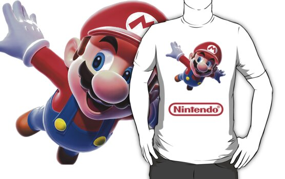 'Mario from Nintendo' Shirt by Benjamin Janssens