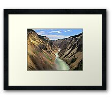 Mystic Canyon Framed Print