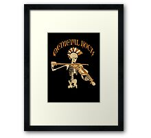 Knochengeiger / Skeleton Fiddler  – Medieval Rock Framed Print