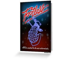 Footless Greeting Card