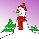 Snowman by Cartoonsbymark