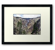 Painted Canyon 2 Framed Print