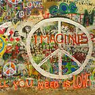 The Beatles John Lennon All You Need is Love Imagine by Tara Holland