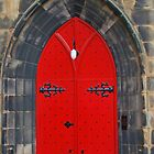 Red Door Of Salvation by Aaron McKenzie