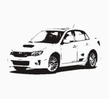 Subaru WRX STI 2011 Kids Clothes