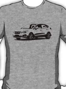 Subaru Impreza 5 Door 2012 T-Shirt