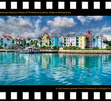 Nostalgia Collection • Islands of The Bahamas • Harbour Village on Paradise Island by 242Digital