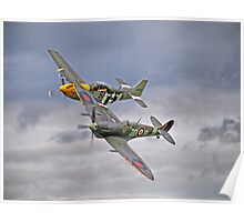 The Old Flying Company -  Ferocious Frankie, And MH434 Poster