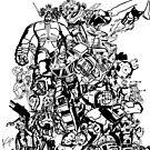 Robot Uprising by krhuntley