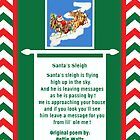 Santa's Sleigh Christmas Card by valleygirl