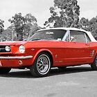 Red Mustang by tonyshaw