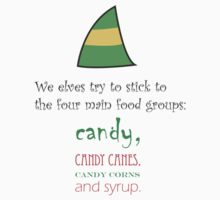 Four Main Candy Food Groups by prjncess