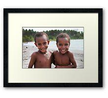 Buna Beach Boys  Framed Print
