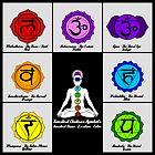 Yoga Reiki Seven Chakras Symbols chart by ernestbolds
