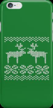 green christmas jumper by EF Fandom Design